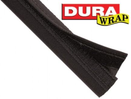 Фото1 DWN.. Застегивающаяся нейлоновая кабельная оплетка повышенной прочности Dura Wrap на замке-липучке