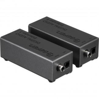 Фото1 EXT-DIGAUD-141 - Удлинитель звуковый цифровых линий S/PDIF и TOSlink по витой паре (5e Cat) на 100 м
