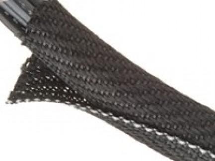 Фото4 F6V...TB Самозакрывающаяся оборачиваемая негорючая эластичная тканевая кабельная оплетка F6 Woven FR