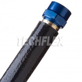 Фото5 FIN... Химикато-термозащитная кабельная оплетка (стекловолокно покрытое силиконом, 260 гр. С)