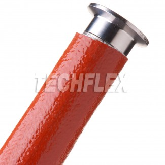 Фото4 FIN... Химикато-термозащитная кабельная оплетка (стекловолокно покрытое силиконом, 260 гр. С)