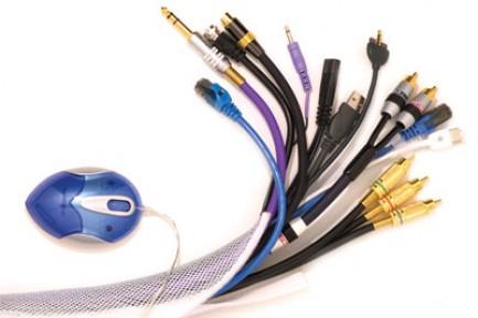 Фото2 FWN0.75.. Застегивающаяся эластичная кабельная оплетка на замке-липучке- 1.9 см