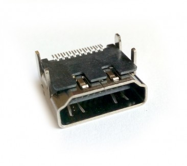 Фото1 VC-HDFP - Разъем HDMI гнездо на панель, контакты - покритие золото