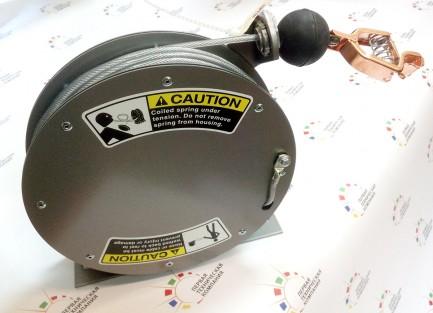 Фото2 GR 75.. - Катушка заземления компактная с кабелем 23 м (диам. 3.18 мм), крепление на поверхность, пр