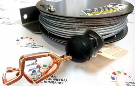 Фото4 GR 75.. - Катушка заземления компактная с кабелем 23 м (диам. 3.18 мм), крепление на поверхность, пр
