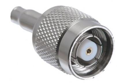 Фото1 J01010R000. Разъём R-TNC (корпус- штекер, ц.контакт- гнездо) кабельный, обжим, 50 Ом