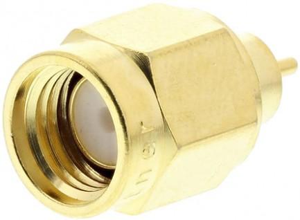 Фото3 J01150A01.1 Разъём SMA кабельный, штекер, ц.контакт- пайка, 50 Ом, IP68