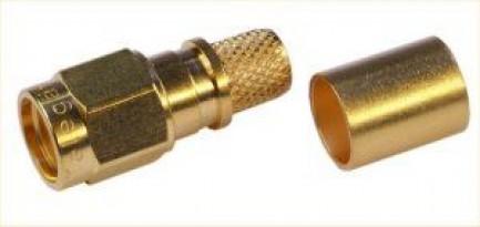 Фото3 J01150R0051 - Разъём R-SMA (корпус-штекер, ц.контакт- гнездо) кабельный, обжим, 50 Ом
