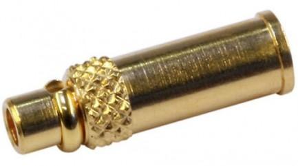 Фото1 J01340A0031 Разъем MMCX кабельный, штекер, обжим, 50 Ом