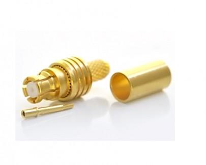 Фото1 J01391A01.1 Разъем SMP кабельный, гнездо, ц.контакт- обжим, экран- обжим, 50 Ом