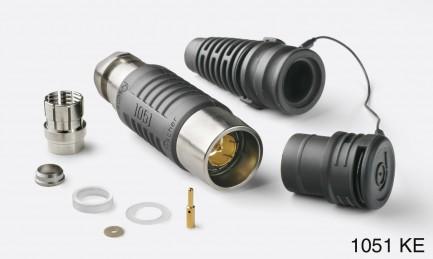 Фото2 KE 1051 A004-9+ - Разъём триаксиальный, кабельный, гнездо, 75 Ом