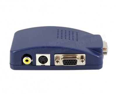 Фото4 LKV2000 - Преобразователь сигналов VGA в композитное видео, S-Video и VGA