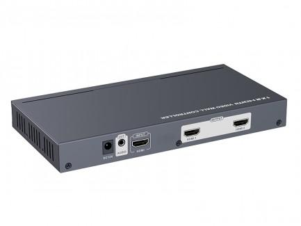 Фото1 LKV312VW - HDMI (v 1.3) 1x2 контроллер видеостен на 2 дисплея со звуком, 1080p 60Hz