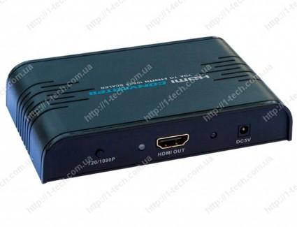 Фото1 LKV352a - Преобразователь VGA + стерео звук в цифровой сигнал HDMI (1080p)