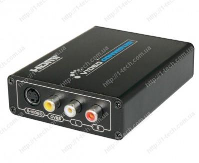 Фото3 LKV381. - Преобразователь цифровых сигналов HDMI в аналоговые Композитное видео и S-Video сигналы