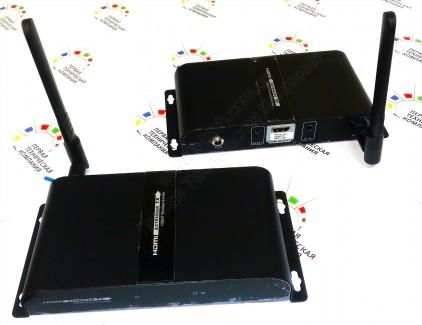 Фото6 LKV388 - Комплект устройств (приемник + передатчик) для безпроводной передачи HDMI сигнала на рассто