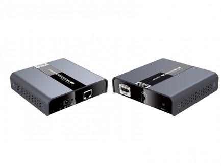 Фото1 LKV393 - Удлинитель HDMI (v 2.0) 4Kx2K 60Hz, HDbitT, по одной витой паре Cat 5/6 до 120 м, c ИК-сигн
