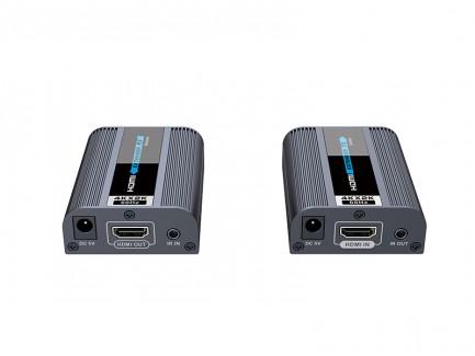 Фото3 LKV672 - Удлинитель HDMI (v 2.0) 4К по одной витой паре Cat 6/6a/7 до 60 м, с передачей ИК сигналов