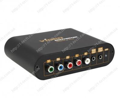 Фото1 LKV7600 - Преобразователь Компонентного видео-сигнала + стерео аудио в VGA + стерео аудио