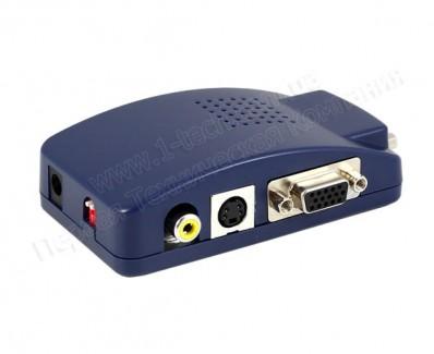 Фото3 LKV2000 - Преобразователь сигналов VGA в композитное видео, S-Video и VGA