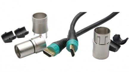 Фото4 NKHDMI-. Кабель HDMI с защищенными разъемами IP65, для мобильного применения, штекер (тип A) > штеке