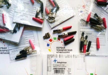 Фото3 J08010A0016 - Оптический разъем кабельный штекер серии ST