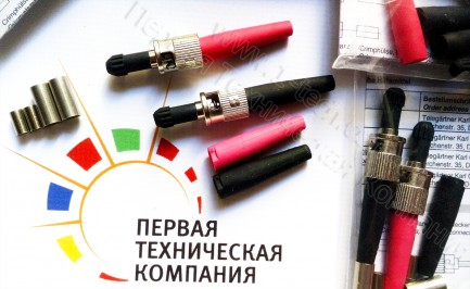 Фото2 J08010A0016 - Оптический разъем кабельный штекер серии ST