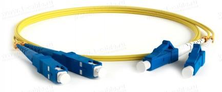 Фото1 1K-FO2-2x9/125-SC>SC-.. Кабель коммутационный, оптический SC штекер > SC штекер, одномодовое волокно