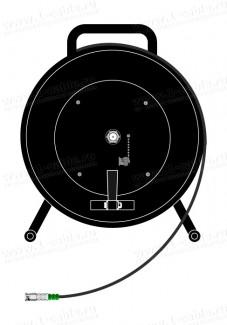 Фото1 1K-VDFM1/A0SK-0.0 Видео туровая кабельная система на катушке, HD-SDI/HDTV (1х BNC гнездо) > кабель (