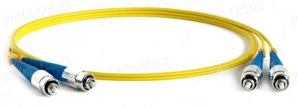 Фото1 1K-FS2-2x9/125-FC>FC-... Кабель коммутационный, оптический, FC штекер > FC штекер, одномодовое волок