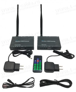 Фото3 HIT-WHDMI1080P-100. Беспроводной усилитель цифровых HDMI сигналов (1080P@50/60Гц) на расстояние до 1