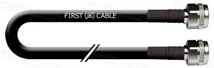 Фото1 1K-VTF47-0.. Кабель коаксиальный 50 Ом, эластичный, на основе кабеля LMR-400-UF, N штекер > N штекер