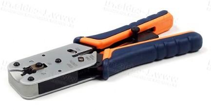 Фото1 HT-L2182R Инструмент профессиональный для монтажа разъемов RJ-45 (8P8C)