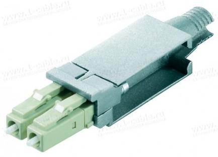 Фото1 F80073A0001 Оптический разъем дуплексный кабельный штекер STX FO серии LC