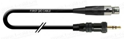Фото1 1K-AMG80-..NA Кабель микрофонный, серия COMPACT, mini XLR3 гнездо > mini XLR3 штекер