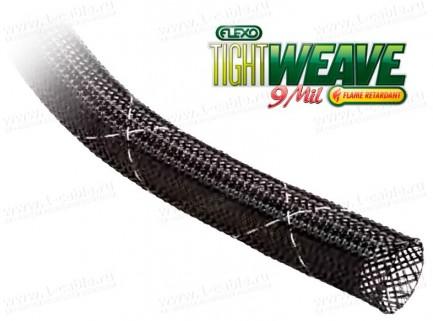 Фото1 F9T.. Flexo® TightWeave FR - эластичная кабельная пламязамедляющая оплетка, плотное плетение