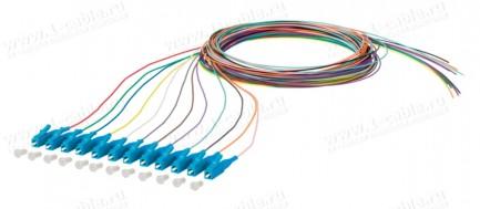 Фото1 150.1.O0020E Набор оптических патч-кордов OpDAT Pigtail   штекер > Pigtails (12 шт.)