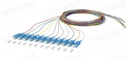 Фото2 150.1.O0020E Набор оптических патч-кордов OpDAT Pigtail   штекер > Pigtails (12 шт.)