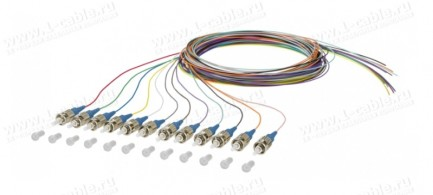 Фото3 150.1.O0020E Набор оптических патч-кордов OpDAT Pigtail   штекер > Pigtails (12 шт.)