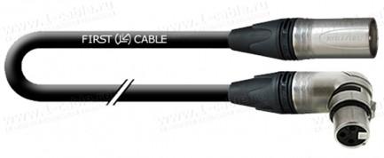 Фото1 1K-AMGN14 Микрофонный кабель GRADE · XLR3 | угловое гнездо > штекер
