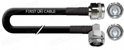 Фото1 1K-VT45A Коаксиальный стандартный кабель 50 Ом | N штекер > N угловой штекер