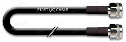Фото1 1K-VTFGA47 Коаксиальный эластичный кабель с низким затуханием 50 Ом мобильного применения   N штекер