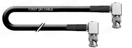 Фото1 1K-VX27 Коаксиальный инсталляционный кабель | BNC угловой штекер > BNC угловой штекер