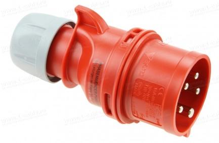 Фото1 Кабельный разъем СЕЕ штекер SHARK | фазоинвертор | кабельный ввод