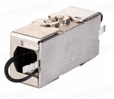 Фото1 130863-04-E Кабельный экранированный соединитель класса EA   1000 МГц   прямой 180°
