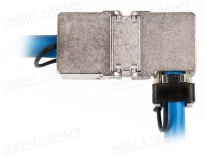 Фото3 130863-05-E Кабельный экранированный соединитель класса EA   1000 МГц   угловой 270°