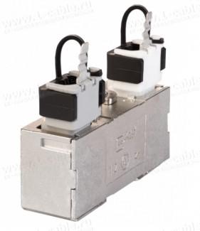 Фото1 130863-06-E Кабельный экранированный соединитель класса EA | 1000 МГц | П-образный 360°