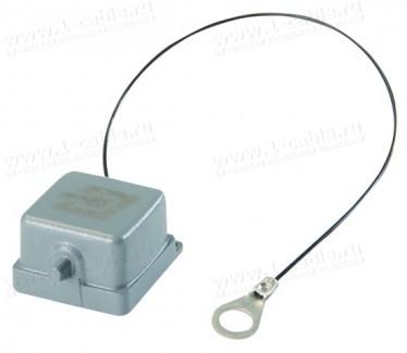 Фото1 H80030A0006 Защитная полиамидная крышка на панельный корпус STX | Variant 5