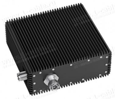 Фото1 J01444A00.. Проходное сопротивление 4.3-10, Low-PIM, штекер - гнездо, 698-2700 МГц, фиксация резьбов