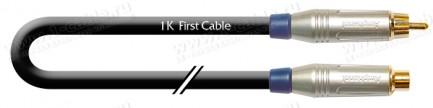 Фото1 1K-AIC63-1.. Кабель звук переходной, удлинитель, Basic, RCA штекер > RCA гнездо